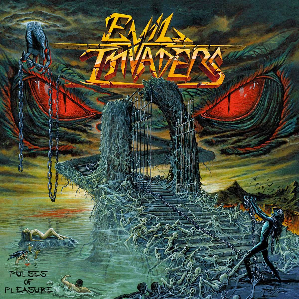 Evil Invaders - Pulses Of Pleasure