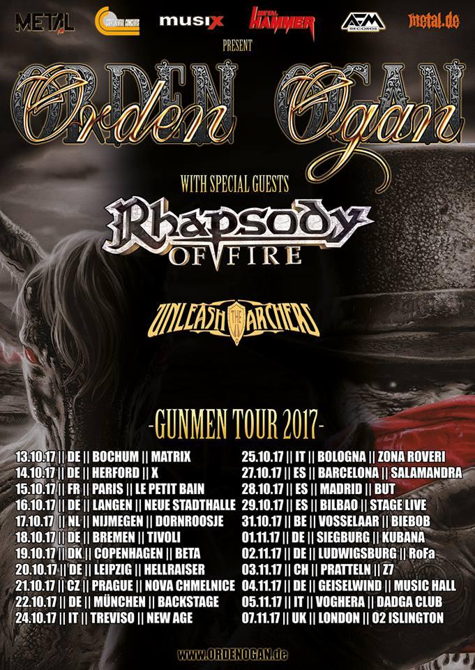 Orden Ogan - Gummen Tour