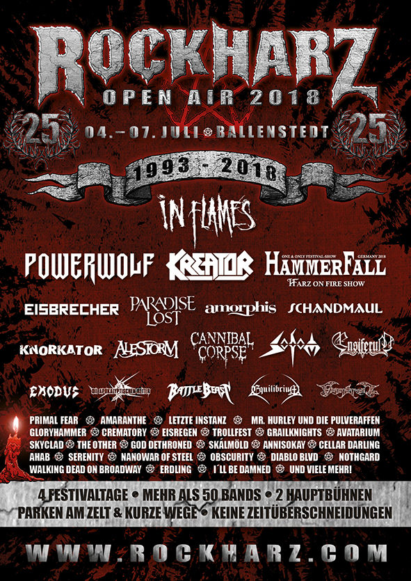 Vorbericht Rockharz Festival 2018