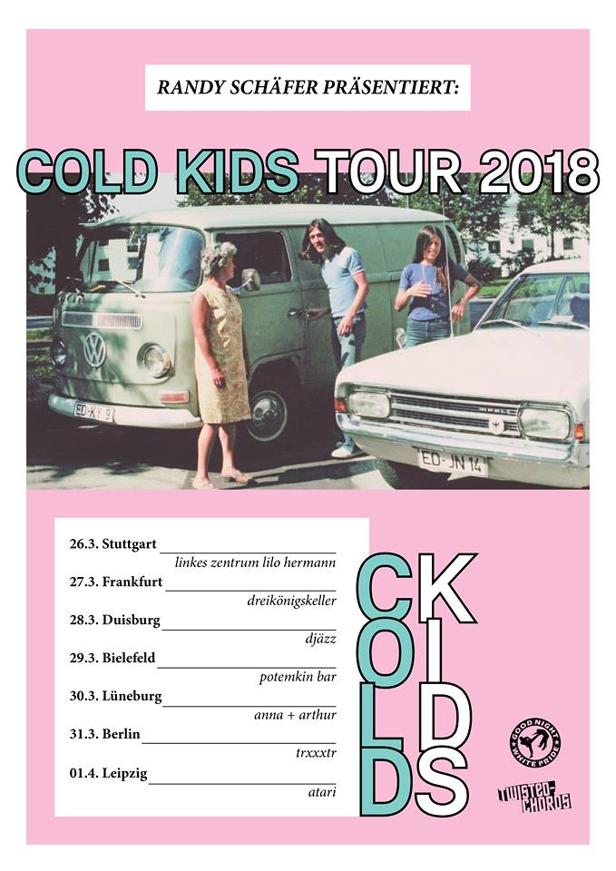 Cold Kids Inkasso Moskau Heavy Stage Force