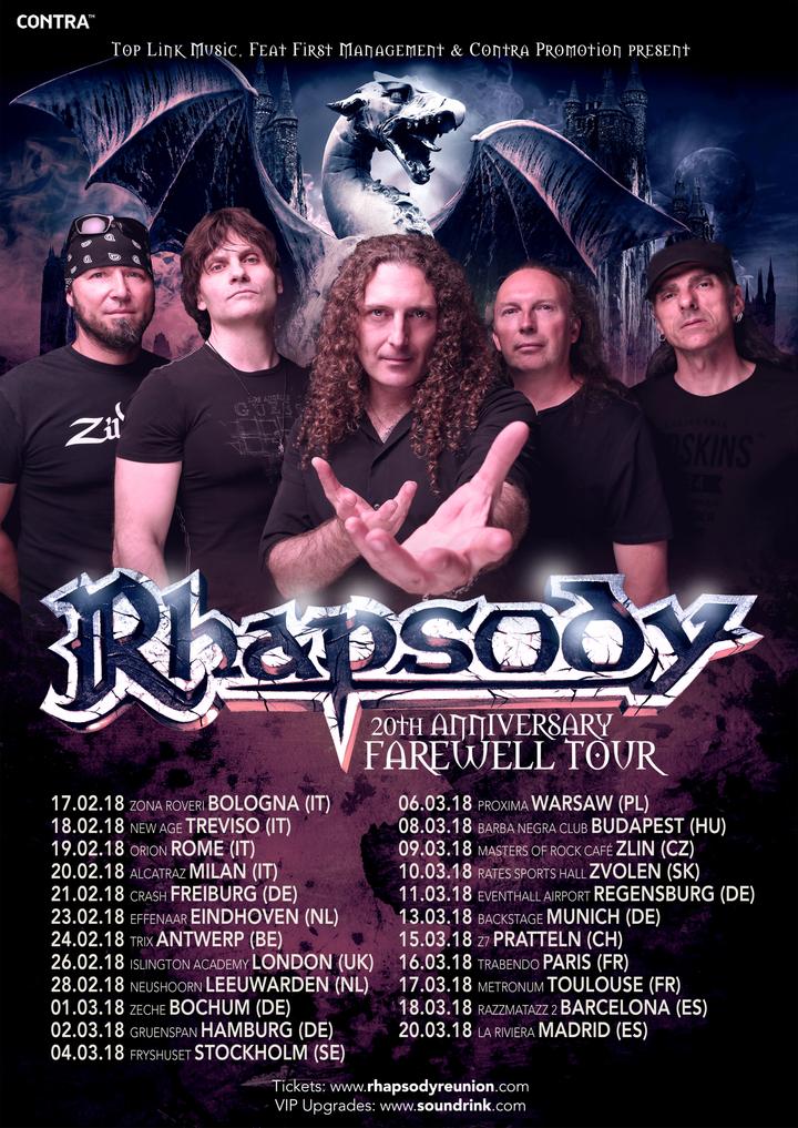 Rhapsody - Bochum 2018